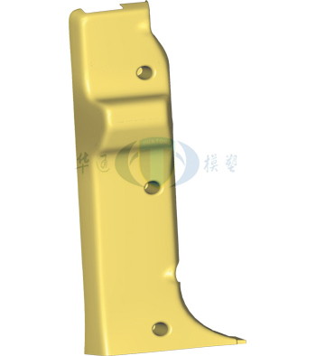 重汽H0W0-A7高地板安全带护框